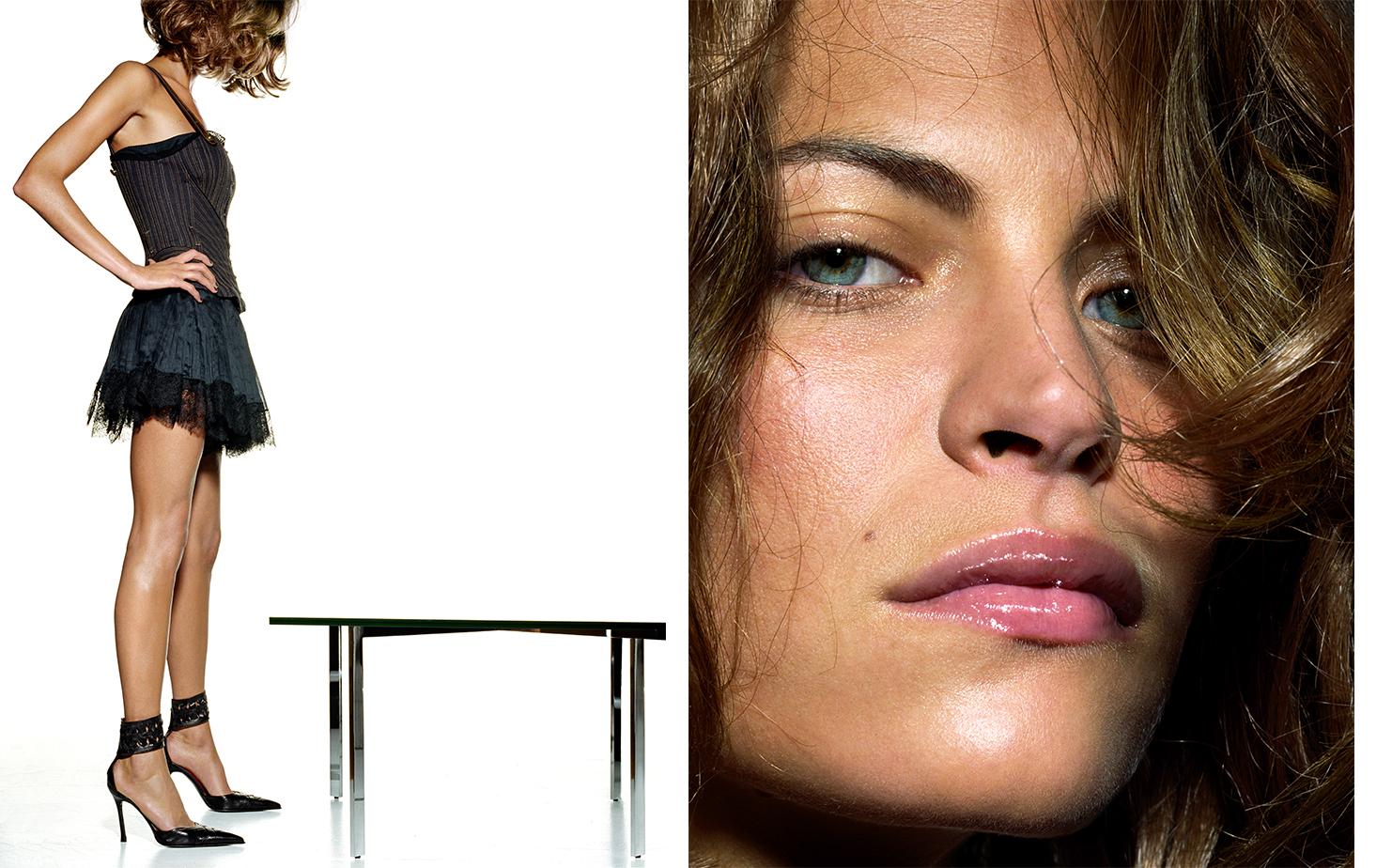 British Vogue KILLER QUEEN   FASHION EDITOR Madeleine Christie MODEL Frankie Rayder