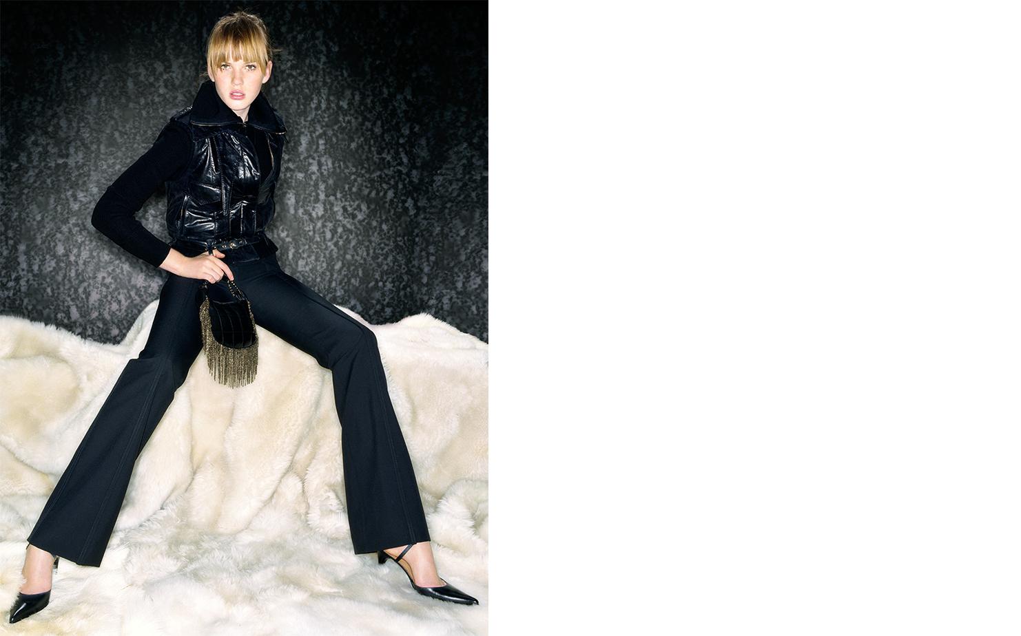British Vogue SPELL BOUND   FASHION EDITOR Madeleine Christie MODEL Anna Vyalitsyna