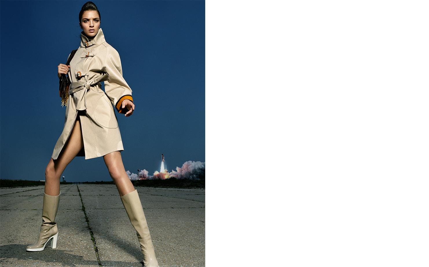 Vogue Japan I SPY   FASHION EDITOR Ako Tanaka MODEL Mariacarla Boscono
