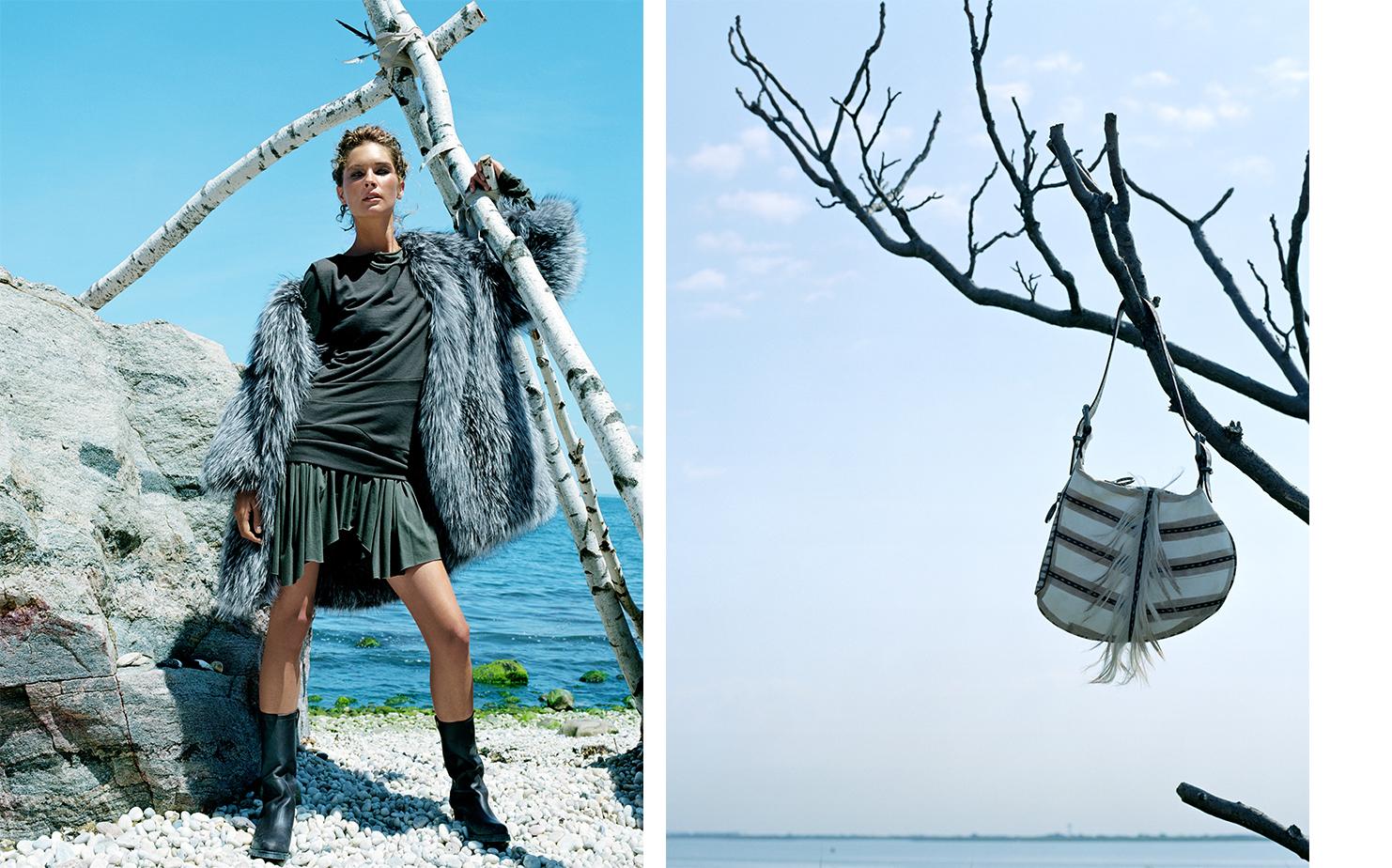 Vogue A FRESH COAT   FASHION EDITOR Elissa Santisi SET DESIGN Kevin Bird