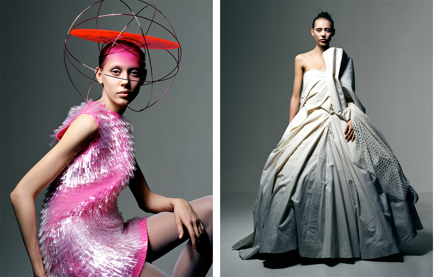 British Vogue WHO'S WHO IN THE BRITISH ART WORLD   FASHION EDITOR Tiina Laakkonen MODEL Colette Pechekhonova