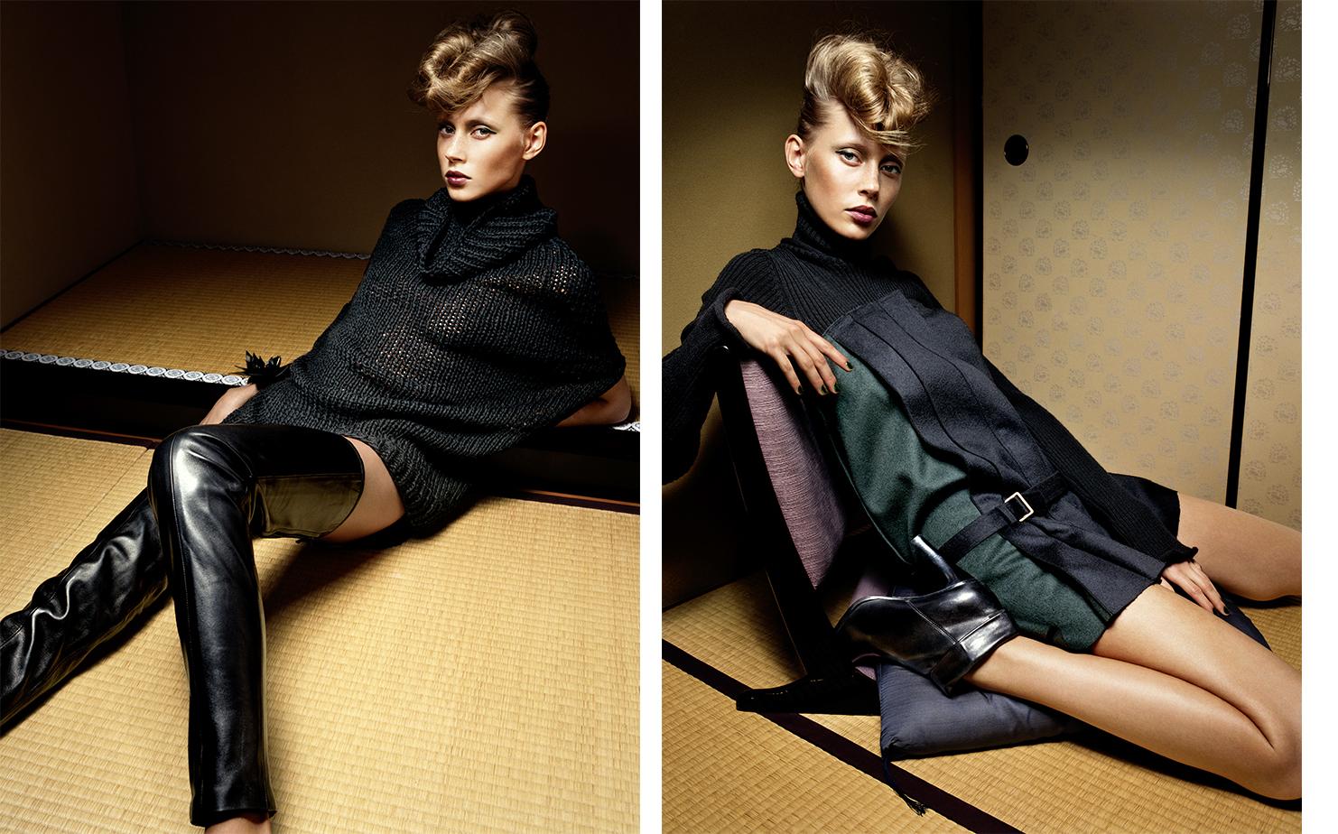 Vogue Japan SKIN GAME   FASHION EDITOR Tiina Laakkonen HAIR Kamo