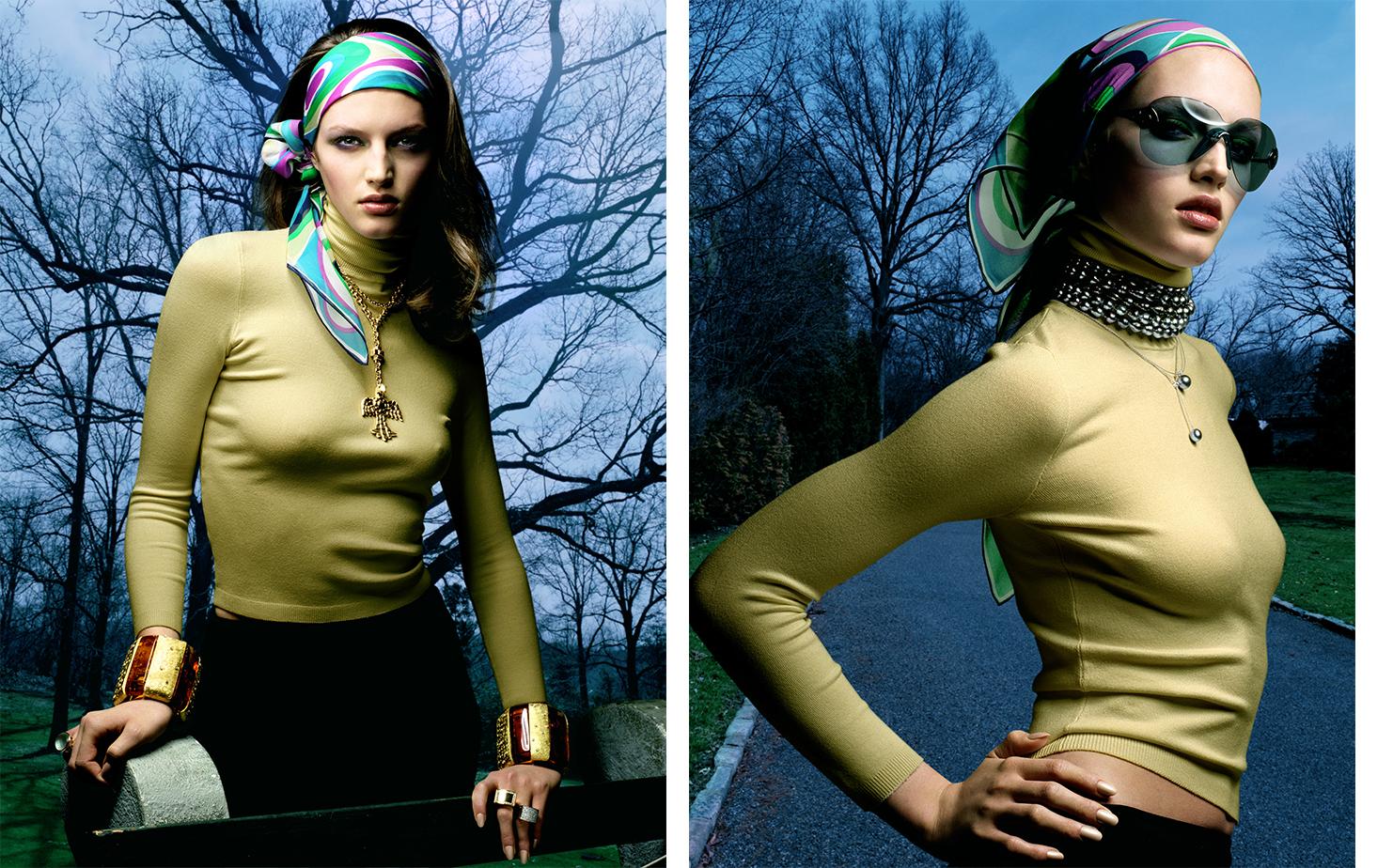 Vogue Germany NIE MEHR OHNE!   FASHION EDITOR Susanne Kölmel MODEL Vivien Solari
