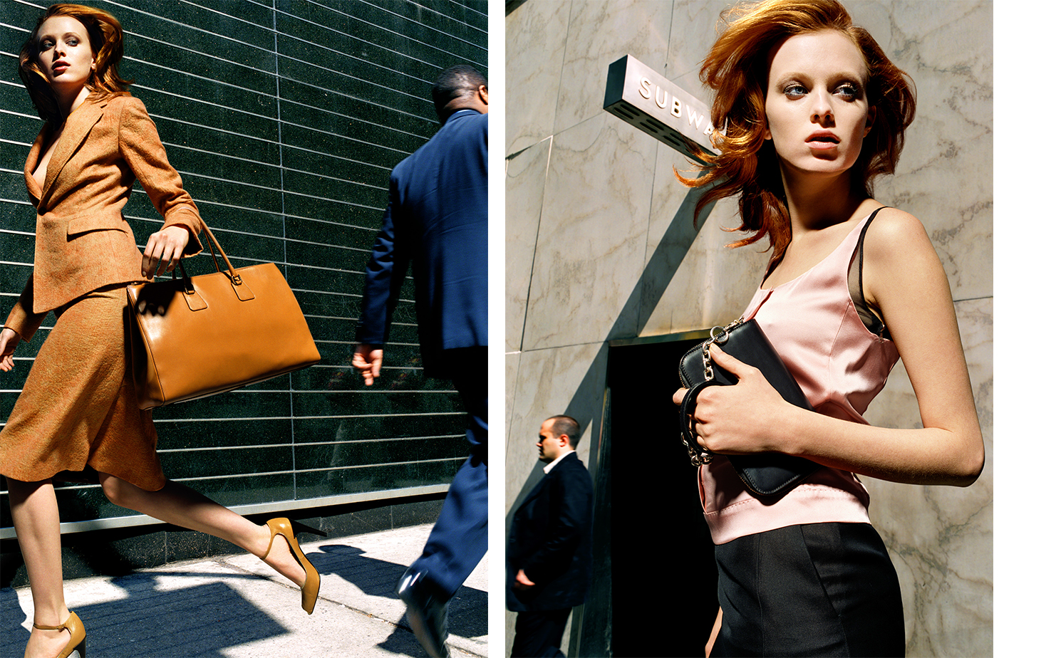 Vogue TALK OF THE TOWN   FASHION EDITOR Elissa Santisi MODEL Karen Elson