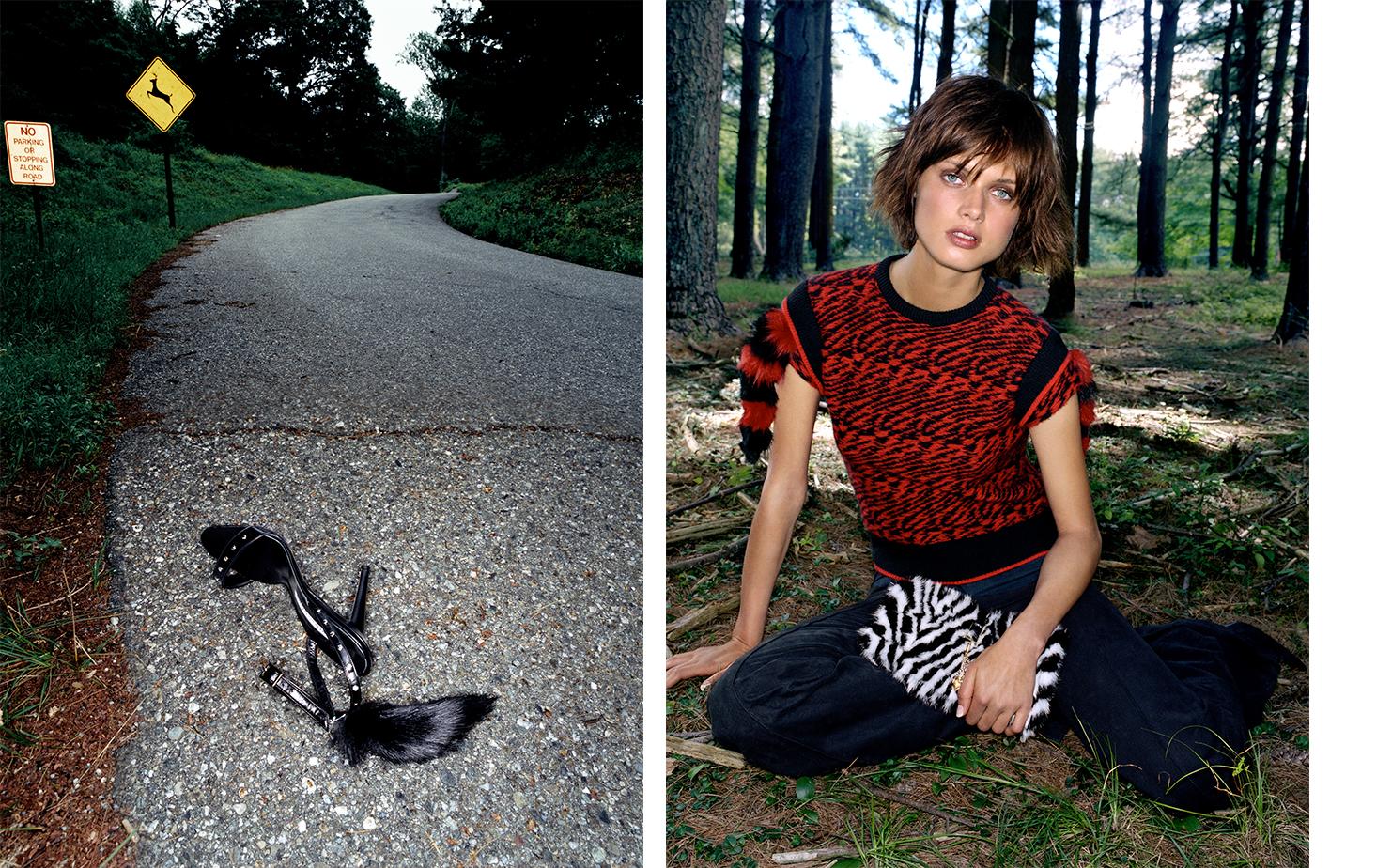 Vogue WHERE THE WILD THINGS ARE   FASHION EDITOR Elissa Santisi MODEL Malgosia Bela