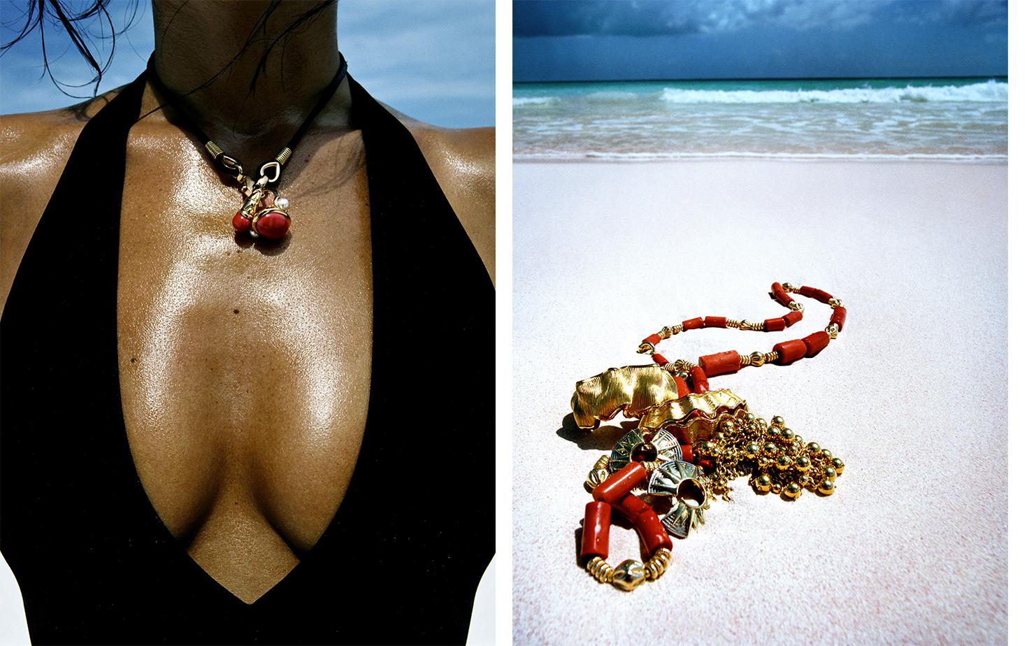 British Vogue GOLD COAST   FASHION EDITOR Tiina Laakkonen MODEL Helena Christensen