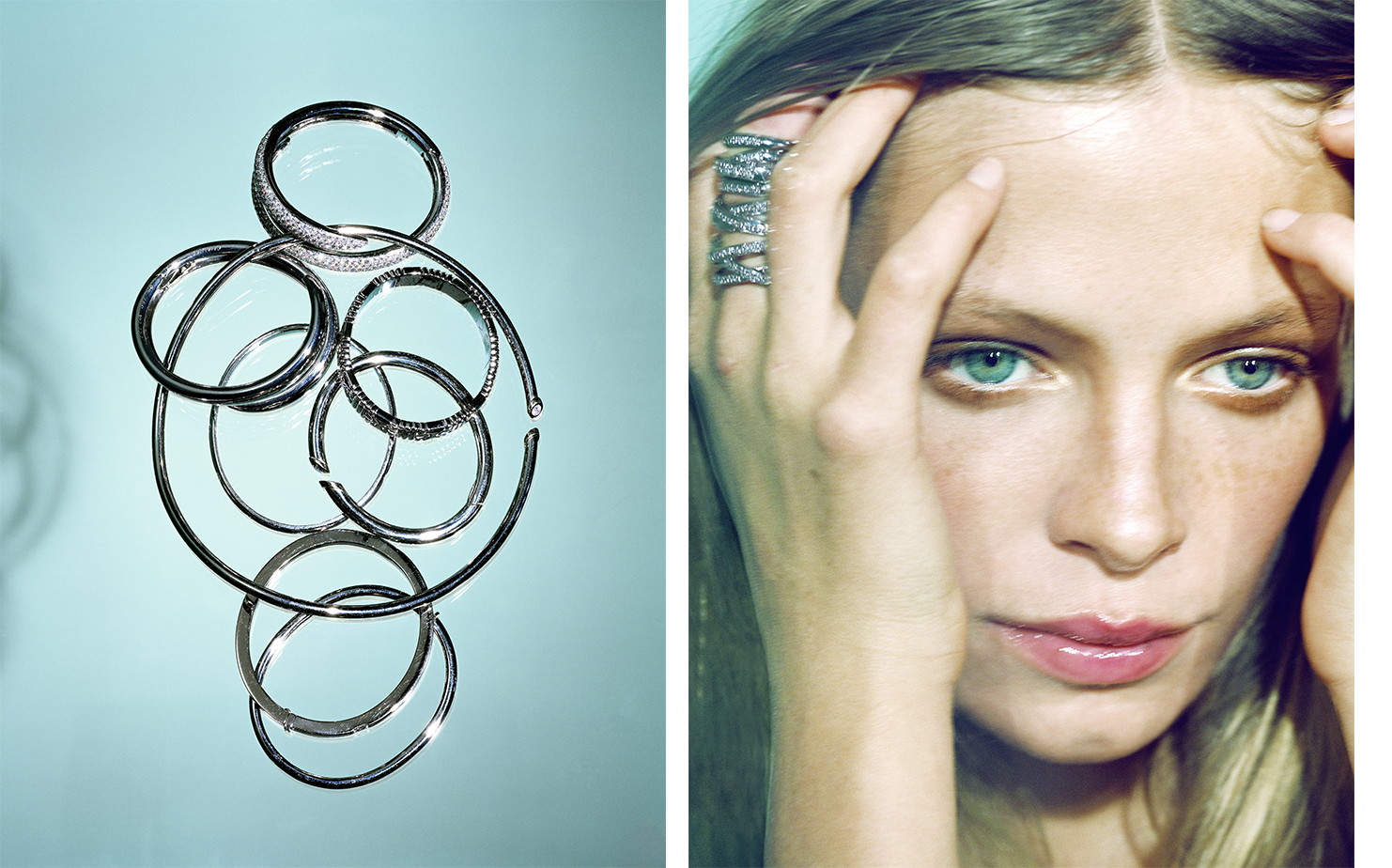 British Vogue JEWELRY   FASHION EDITOR Tiina Laakkonen CREATIVE DIRECTOR Robin Derrick