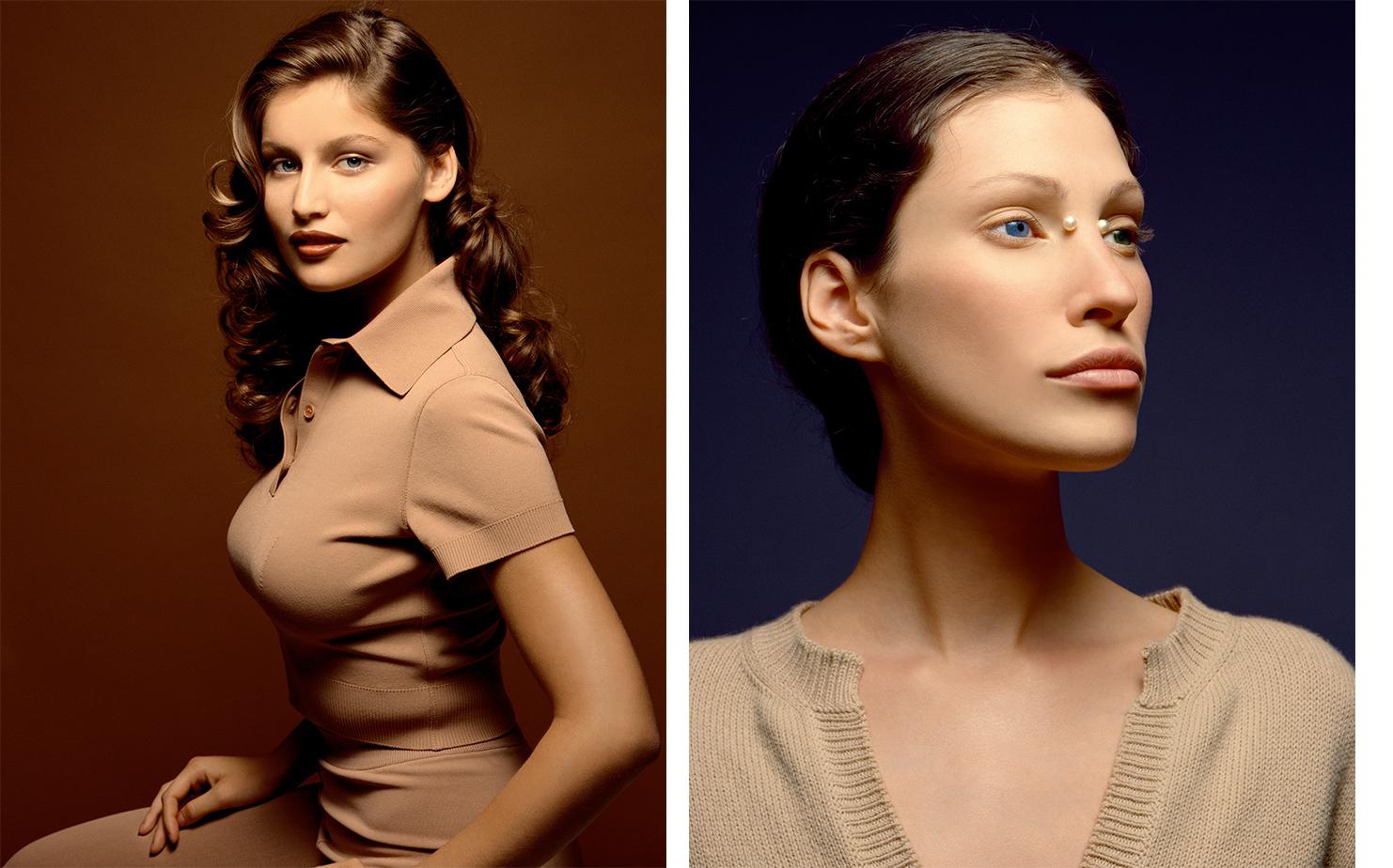 Vogue Paris PORTRAITS DE FEMMES   FASHION EDITOR Delphine Treanton ART DIRECTOR Donald Schneider