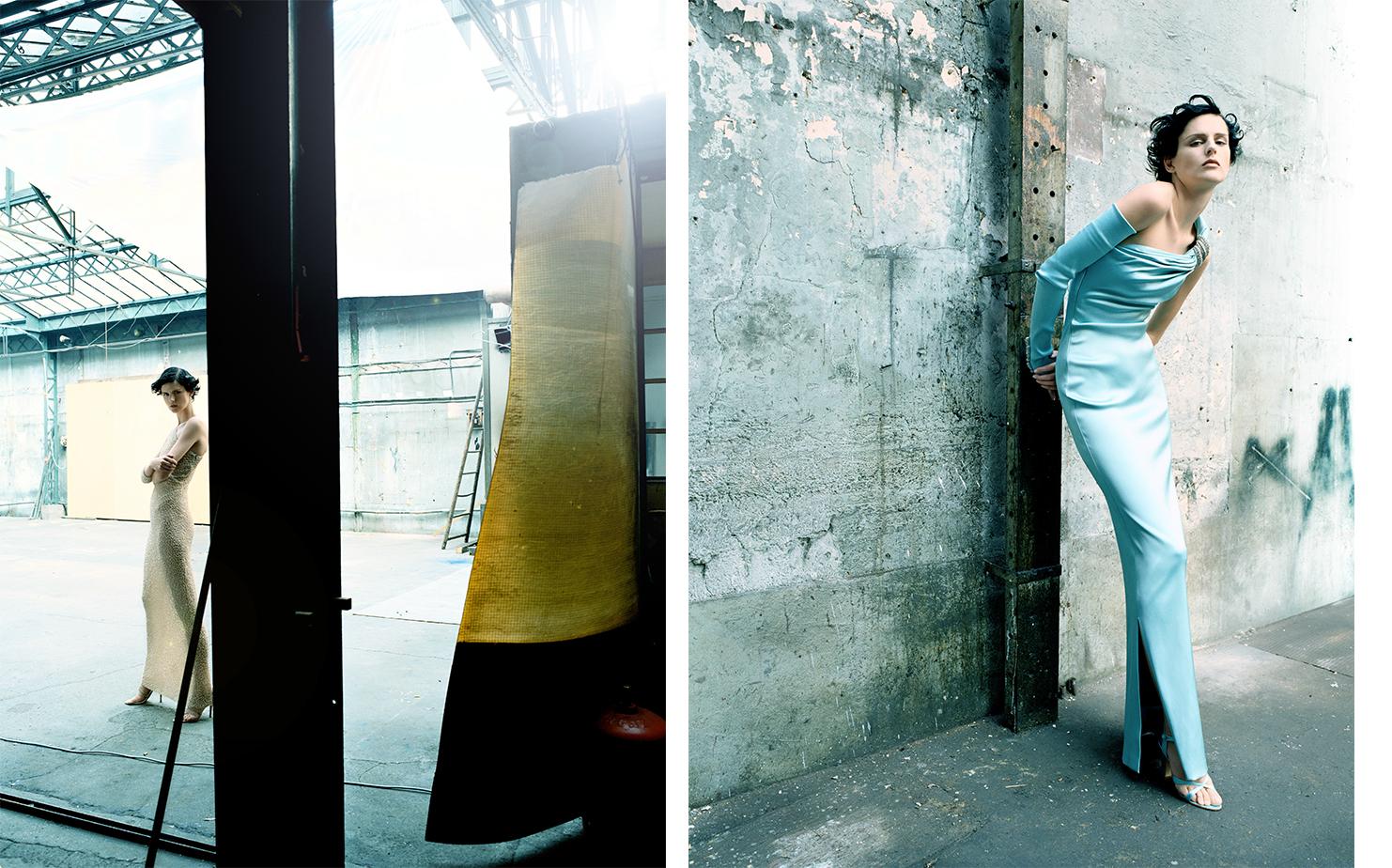 Vogue Paris NEO-VESTALES   FASHION EDITOR Debra Scherer ART DIRECTOR Donald Schneider