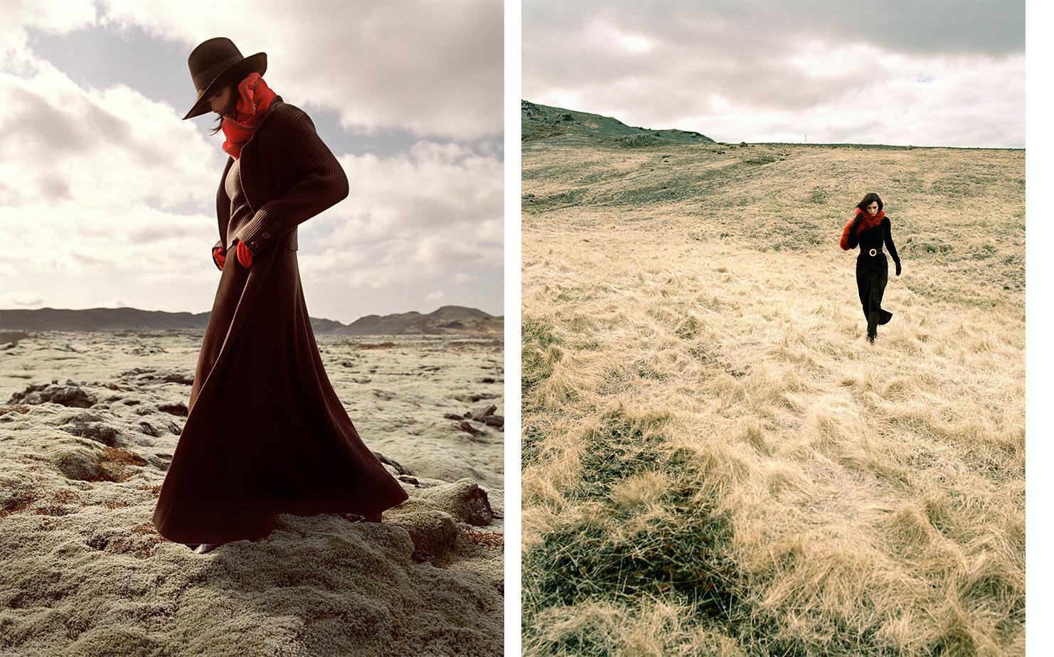 Vogue Paris FONCEZ SUR LA MARRON   FASHION EDITOR Jenny Capitain ART DIRECTOR Donald Schneider