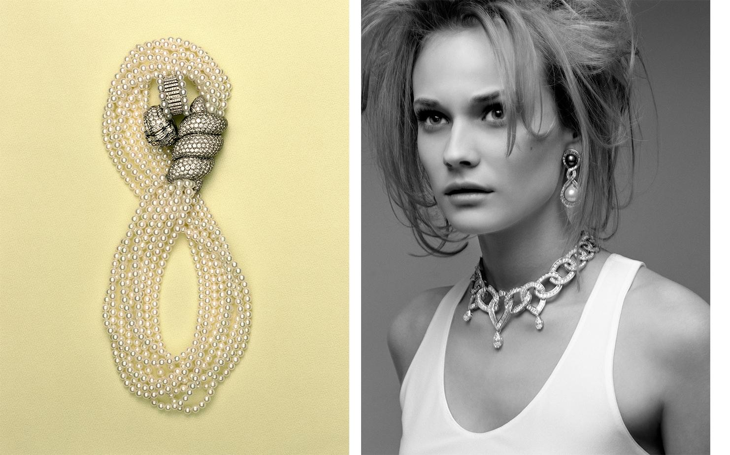 Vogue Paris LUMIER BLANCHE   FASHION EDITOR Jenny Capitain MODEL Diane Kruger
