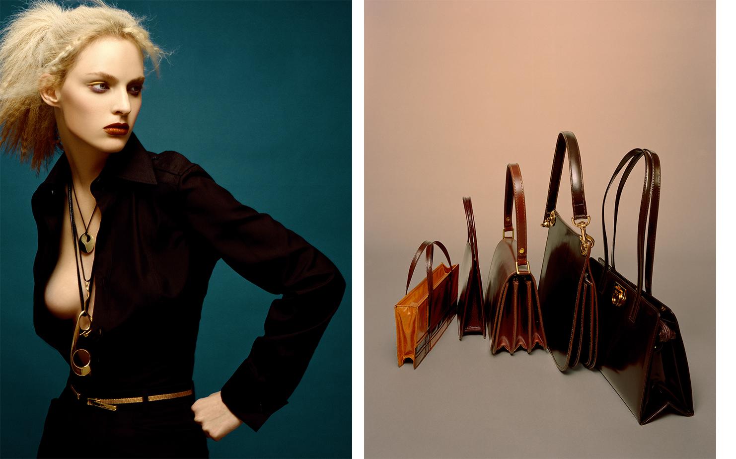 British Vogue GOLDEN BROWN   FASHION EDITOR Tiina Laakkonen MODEL Amy Wesson