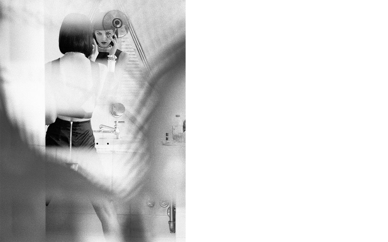 Harper's Bazaar   I SPY   FASHION EDITOR Elissa Santisi MODEL Chandra North