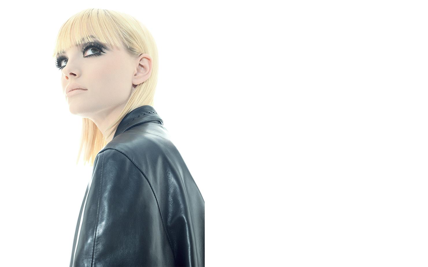 Harper's Bazaar   BLACK AND WHITE   FASHION EDITOR Elissa Santisi MODEL Jamie Rishar