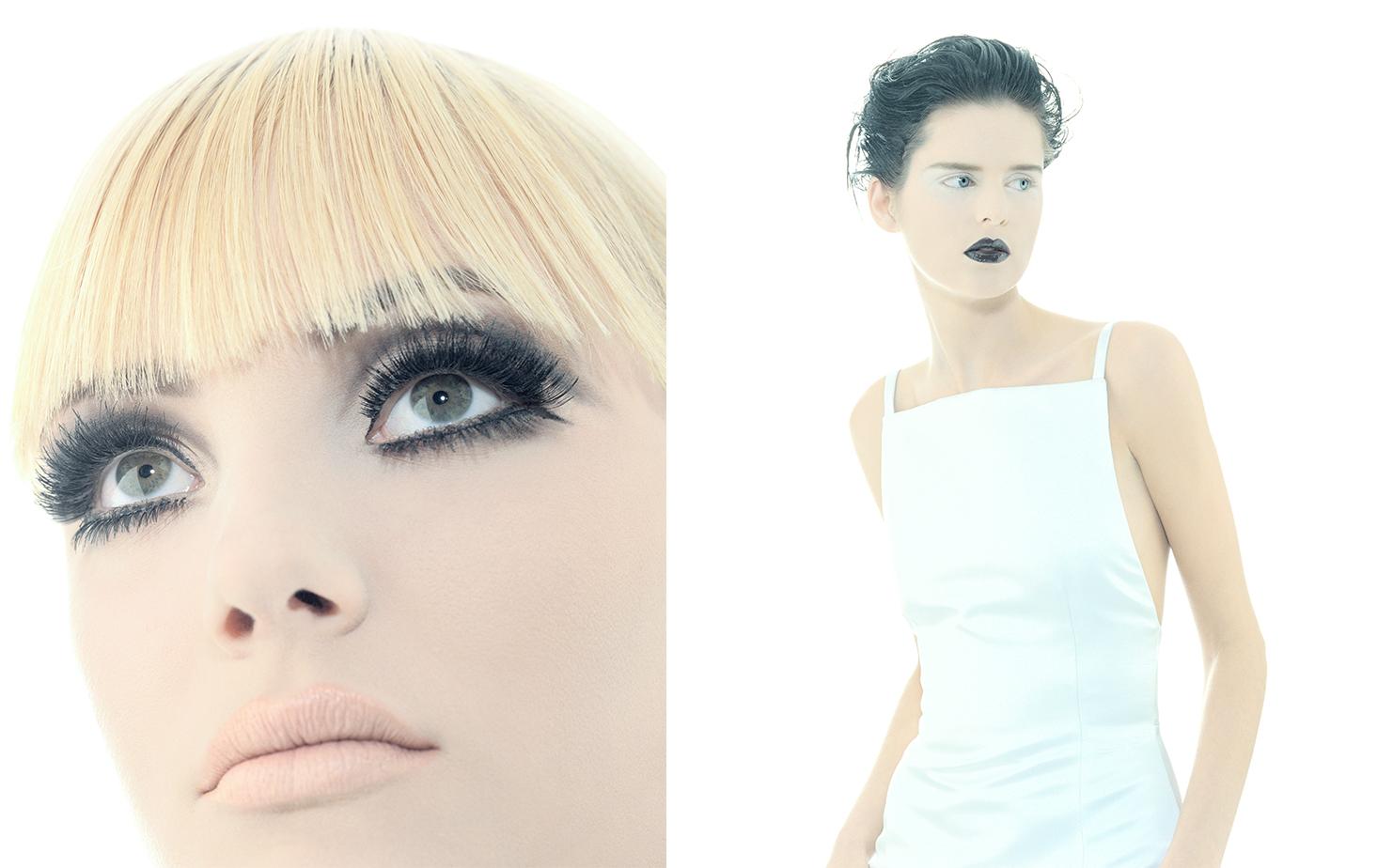 Harper's Bazaar   BLACK AND WHITE   FASHION EDITOR Elissa Santisi MODELS Jamie Rishar, Stella Tennant