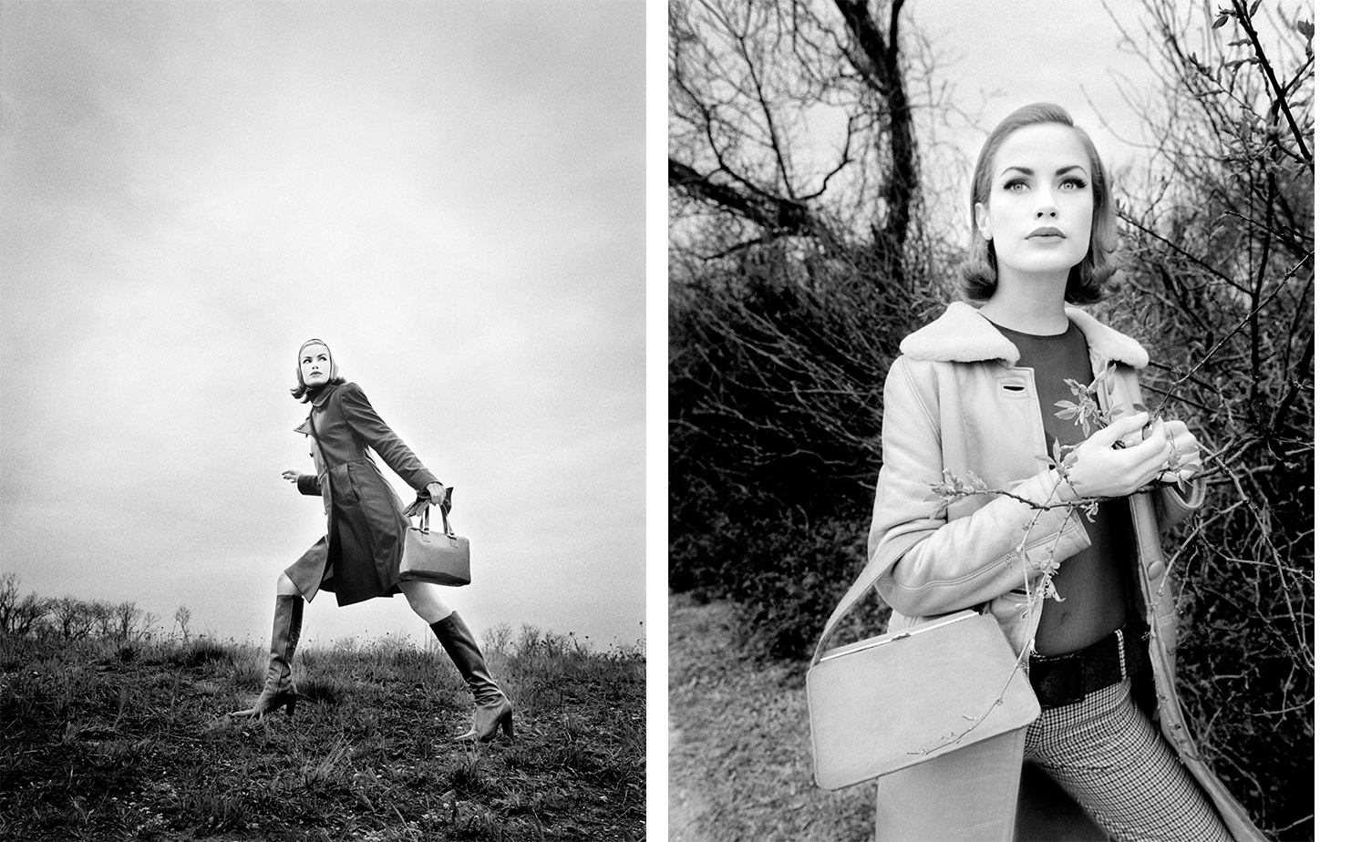 Harper's Bazaar   UNPUBLISHED   FASHION EDITOR Elissa Santisi MODEL Carolyn Murphy