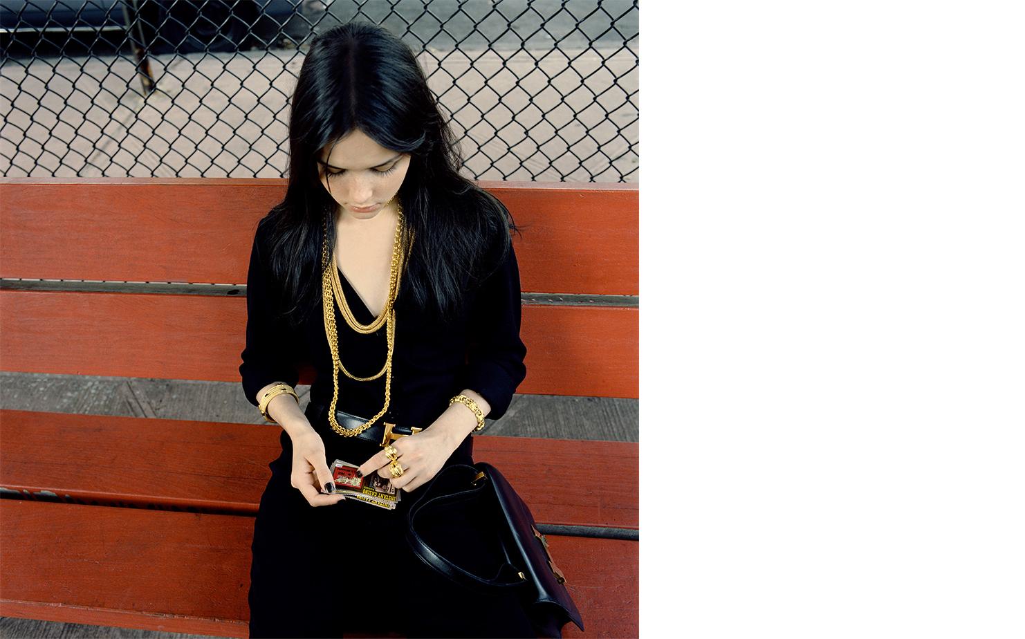 Harper's Bazaar   HEAVY G   FASHION EDITOR Elissa Santisi MODEL Tasha Tilberg