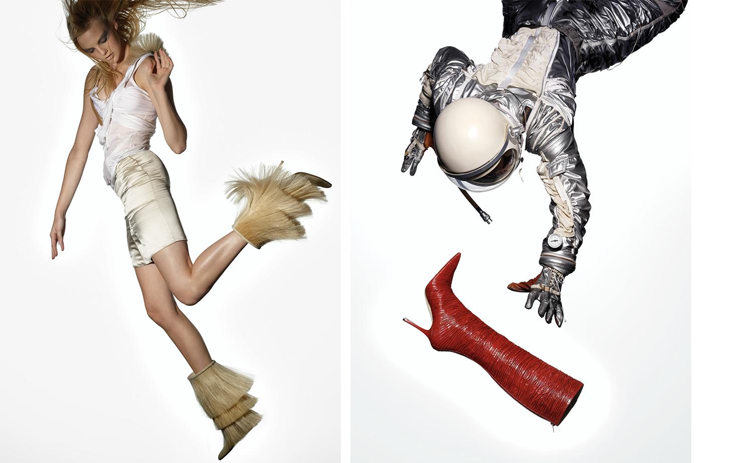 Vogue THE RIGHT STUFF   FASHION EDITOR Elissa Santisi MODEL Caroline Trentini