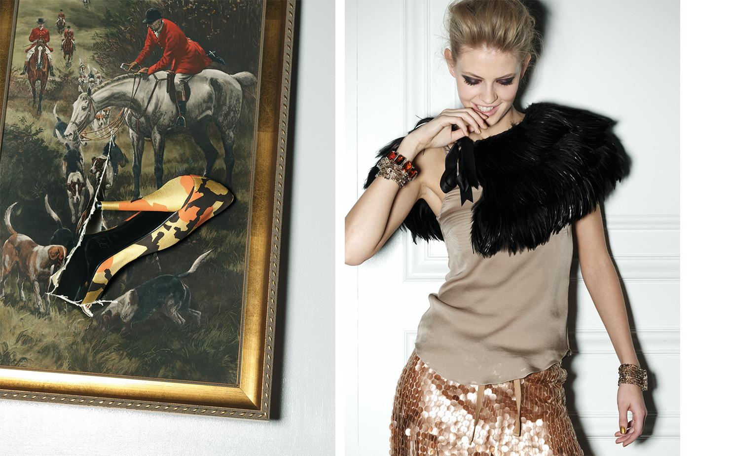 Vogue GIRLS GONE WILD   FASHION EDITOR Elissa Santisi SET DESIGN Jill Nicholls