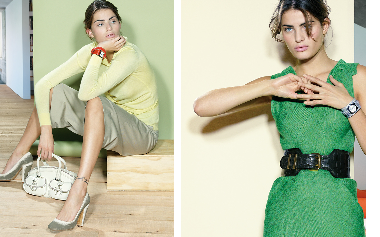 Vogue DREAMING IN COLOR   FASHION EDITOR Elissa Santisi MODEL Isabeli