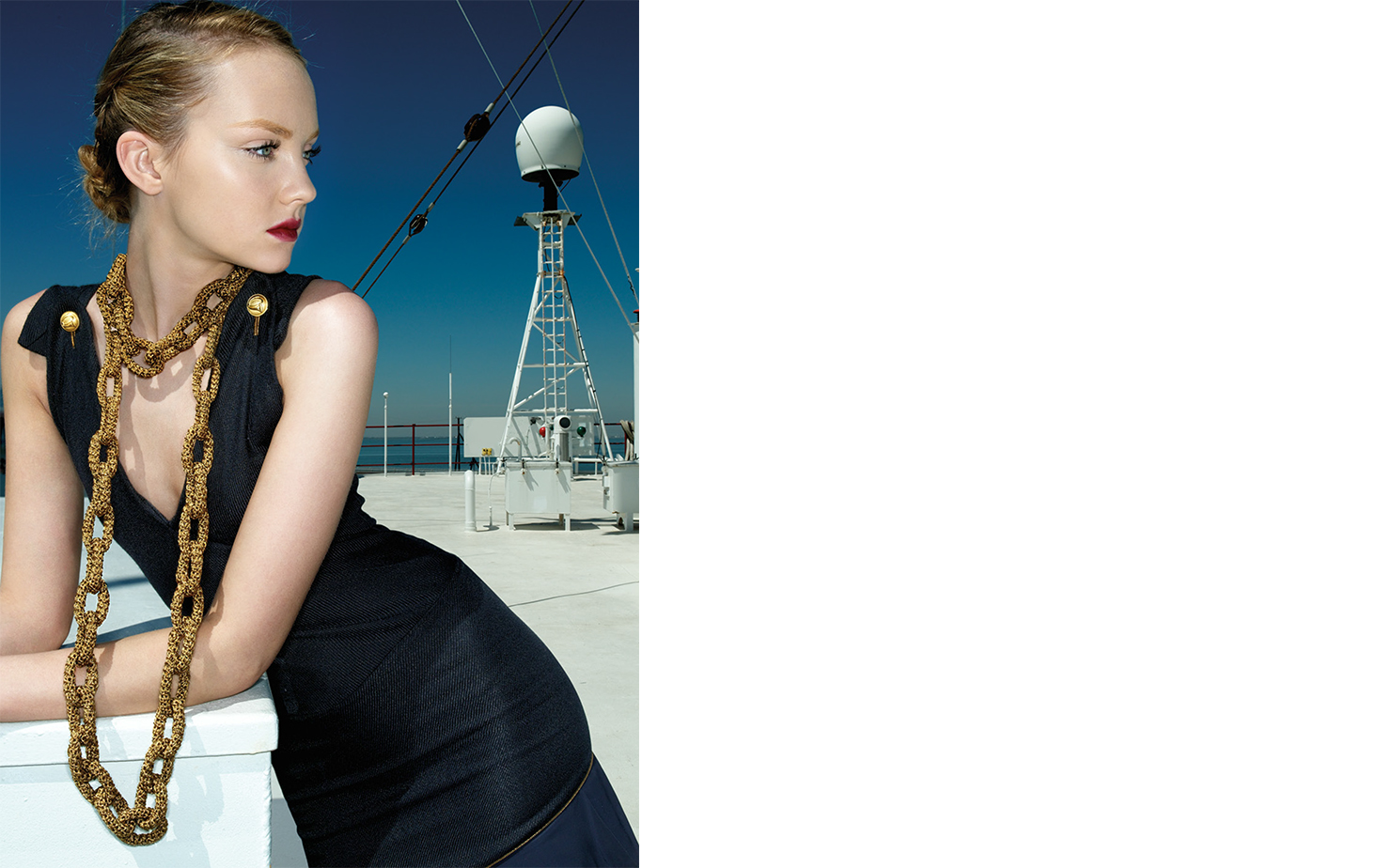 Vogue OUTWARD BOUND   FASHION EDITOR Elissa Santisi MODEL Heather Marks