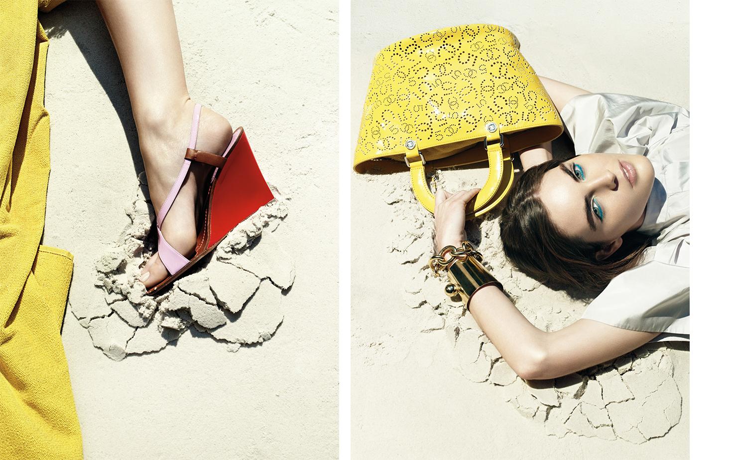 Vogue UNPUBLISHED   FASHION EDITOR Elissa Santisi MODEL  Hilary Rhoda