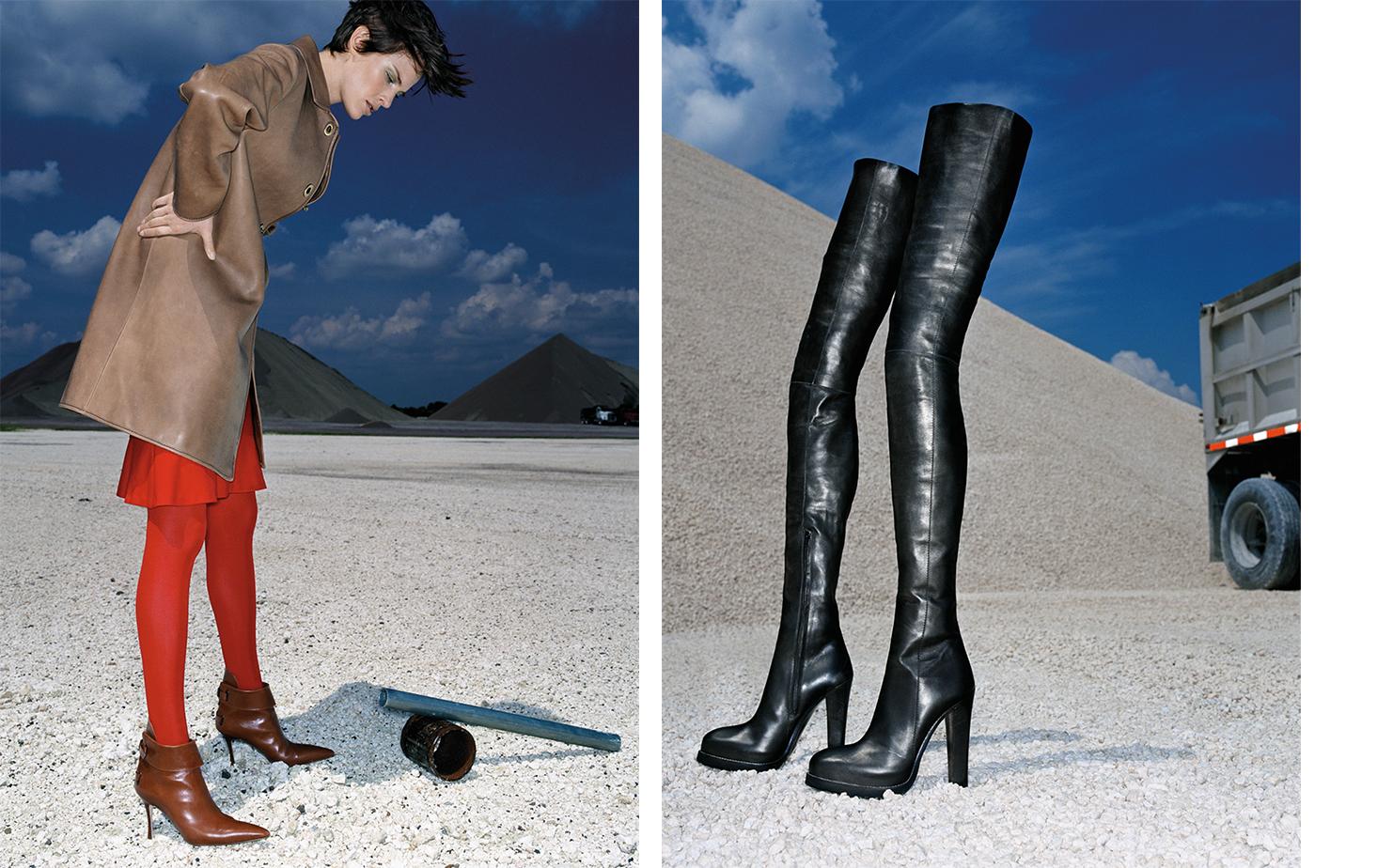 Vogue UNPUBLISHED   FASHION EDITOR Elissa Santisi MODEL Romy Soleimani