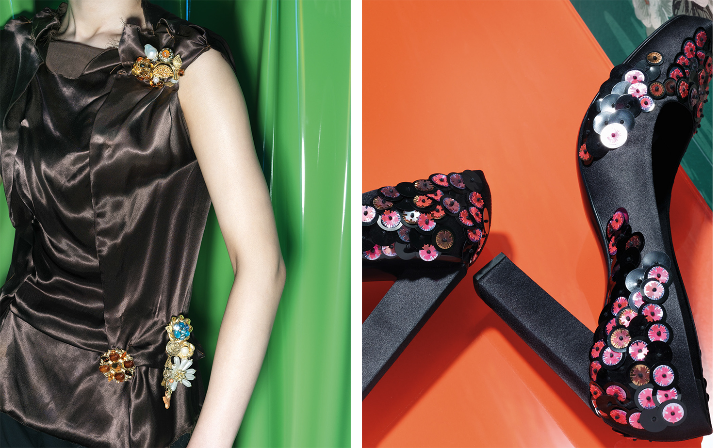 Vogue HOT ROCKS    FASHION EDITOR Elissa Santisi SET DESIGN Kevin Bird