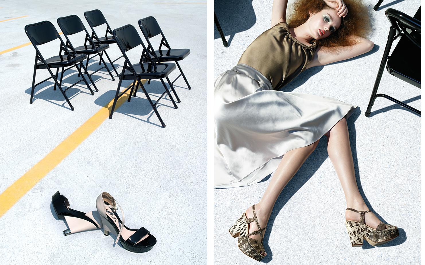 Vogue UNPUBLISHED   FASHION EDITOR Elissa Santisi MODEL Lisa Cant