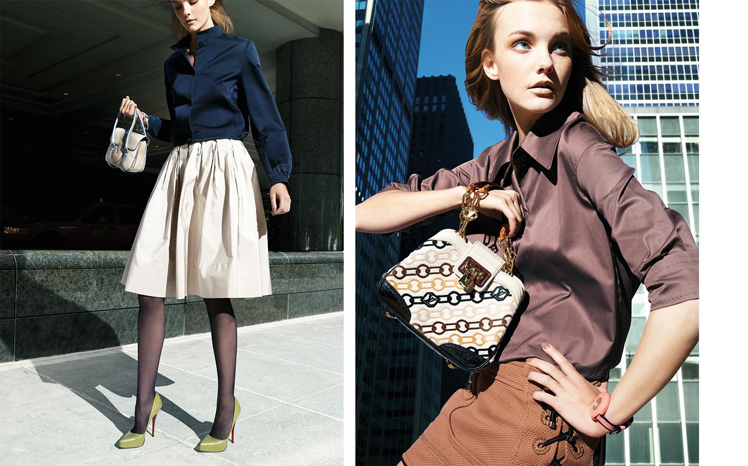 Vogue UNPUBLISHED   FASHION EDITOR Elissa Santisi MODEL Caroline Trentini