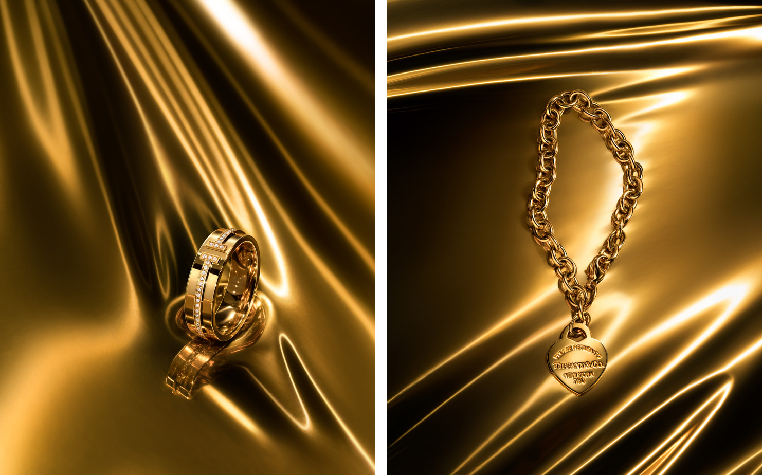 This is Tiffany   Go for Gold   CREATIVE DIRECTOR Zoe Bruns