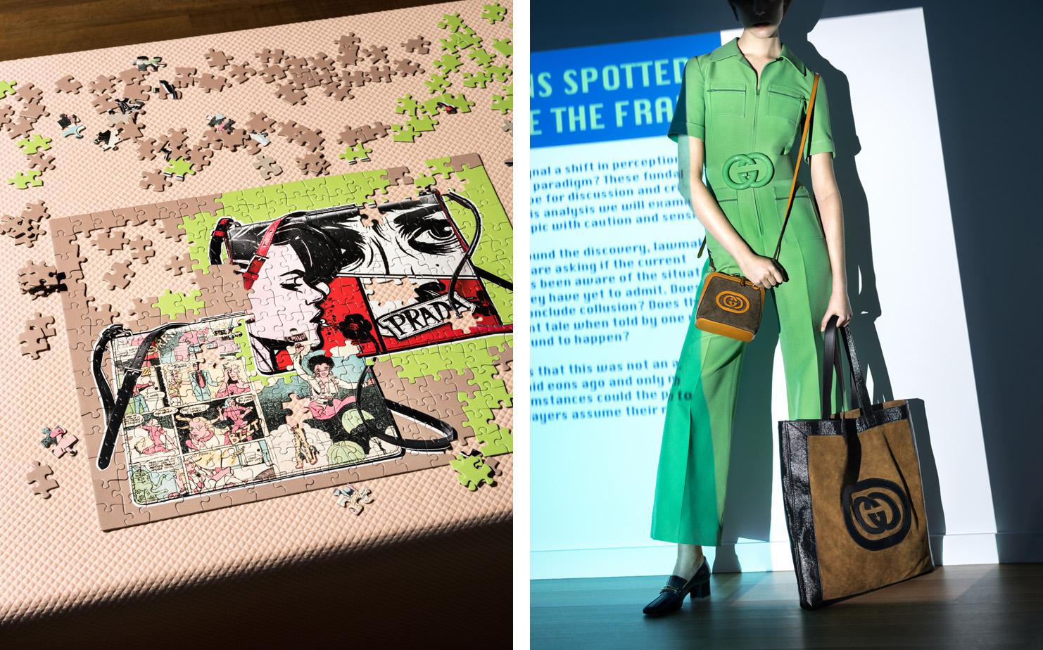 Elle Magazine The Drama of Spring's Best Accessories   CREATIVE DIRECTOR Ruba Abu-Nimah  STYLIST Elissa Santisi  SET DESIGN Jill Nicholls