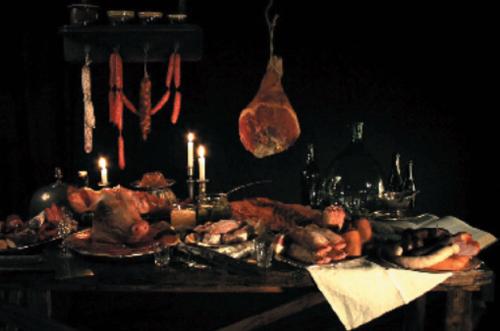 DANS LE COCHON TOUT EST BON de Iris Alexandre, 2011, Animation, 5'   Du cochon vivant au banquet de cochonnailles, rien ne se perd, rien ne se crée, tout se transforme