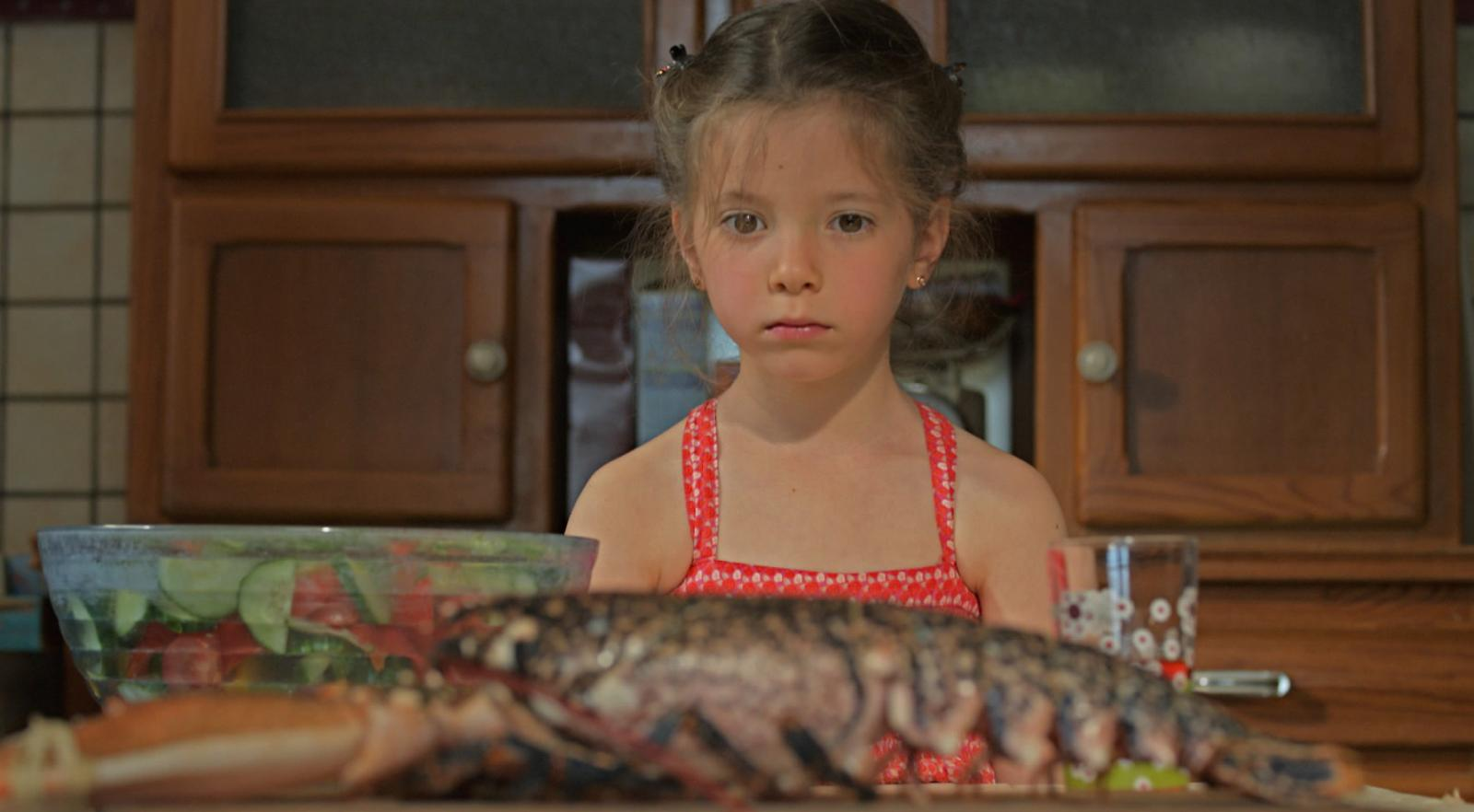 LE CRI DU HOMARD de Nicolas Guiot, 2012, fiction, 30'  César et Magritte du Meilleur court métrage 2013   D'origine russe et installée depuis peu en France avec ses parents, Natalia, six ans, attend impatiemment le retour de son frère, Boris, parti combattre en Tchétchénie. Le grand jour est arrivé, mais la fillette doit rapidement déchanter. Cet homme est-il vraiment le frère qu'elle a connu ?