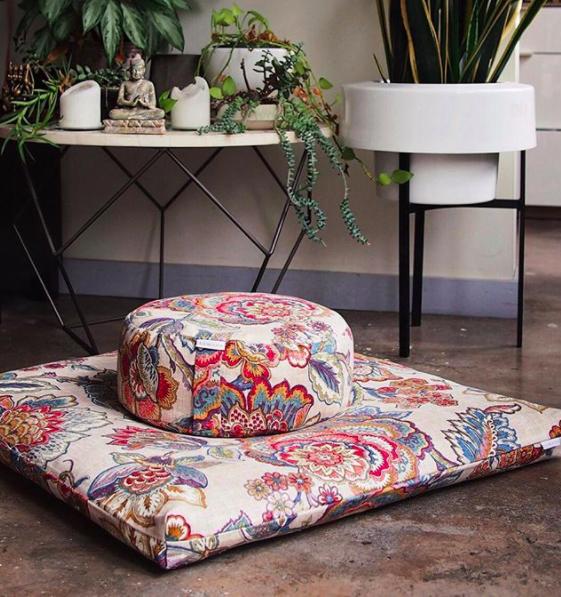Samaya Meditation Cushions - A beautiful way to inspire consistent practiceSHOP NOW>>