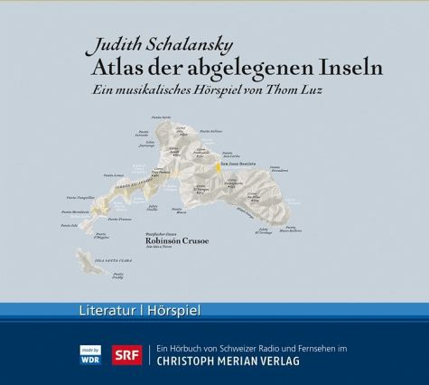 CD cover with map judith schalansky