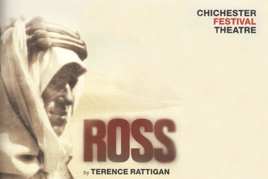 This production of Ross starred Joseph Fiennes and Paul Freeman. We designed all of the video content in the show