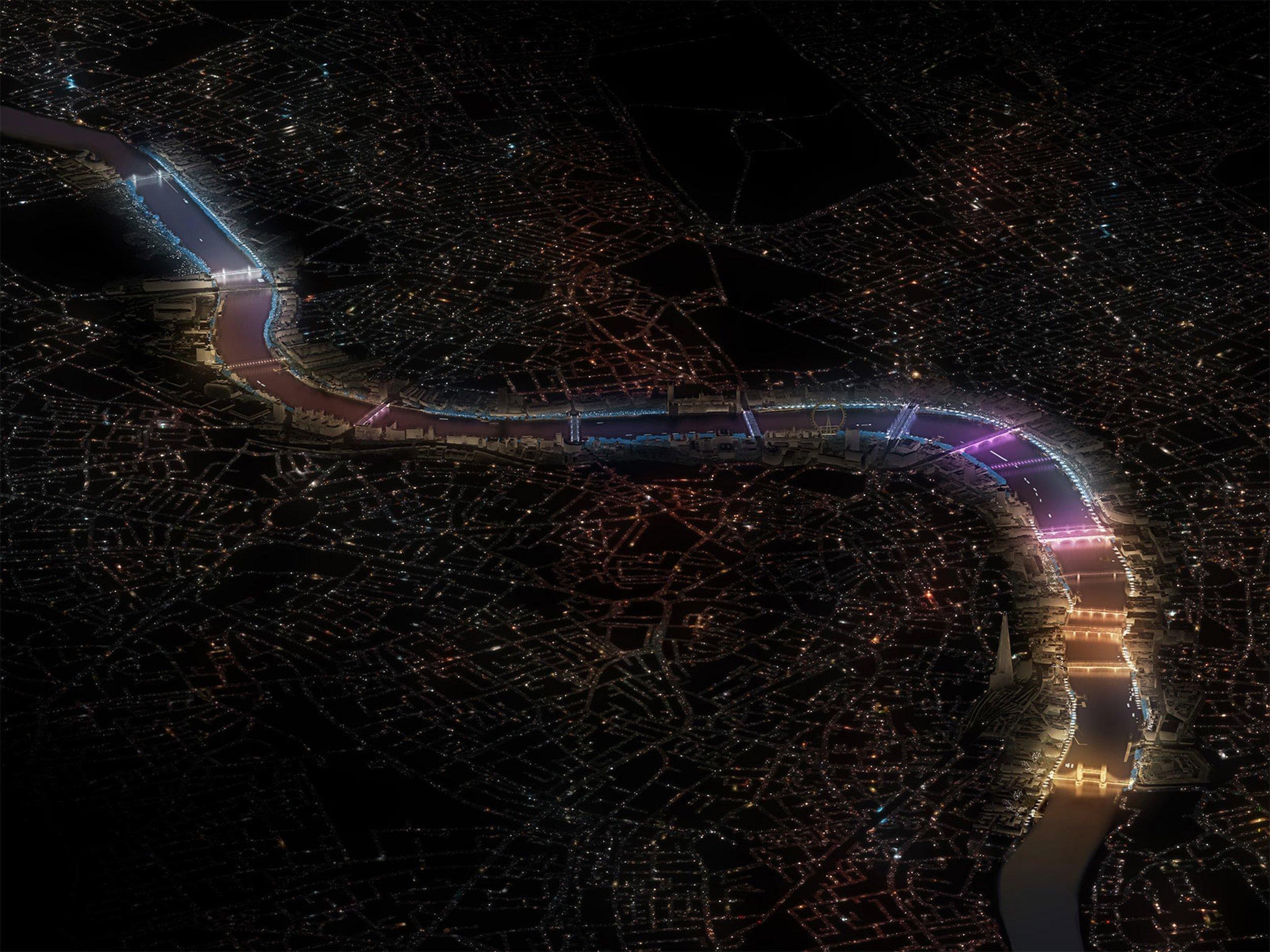 Vista general de Londres
