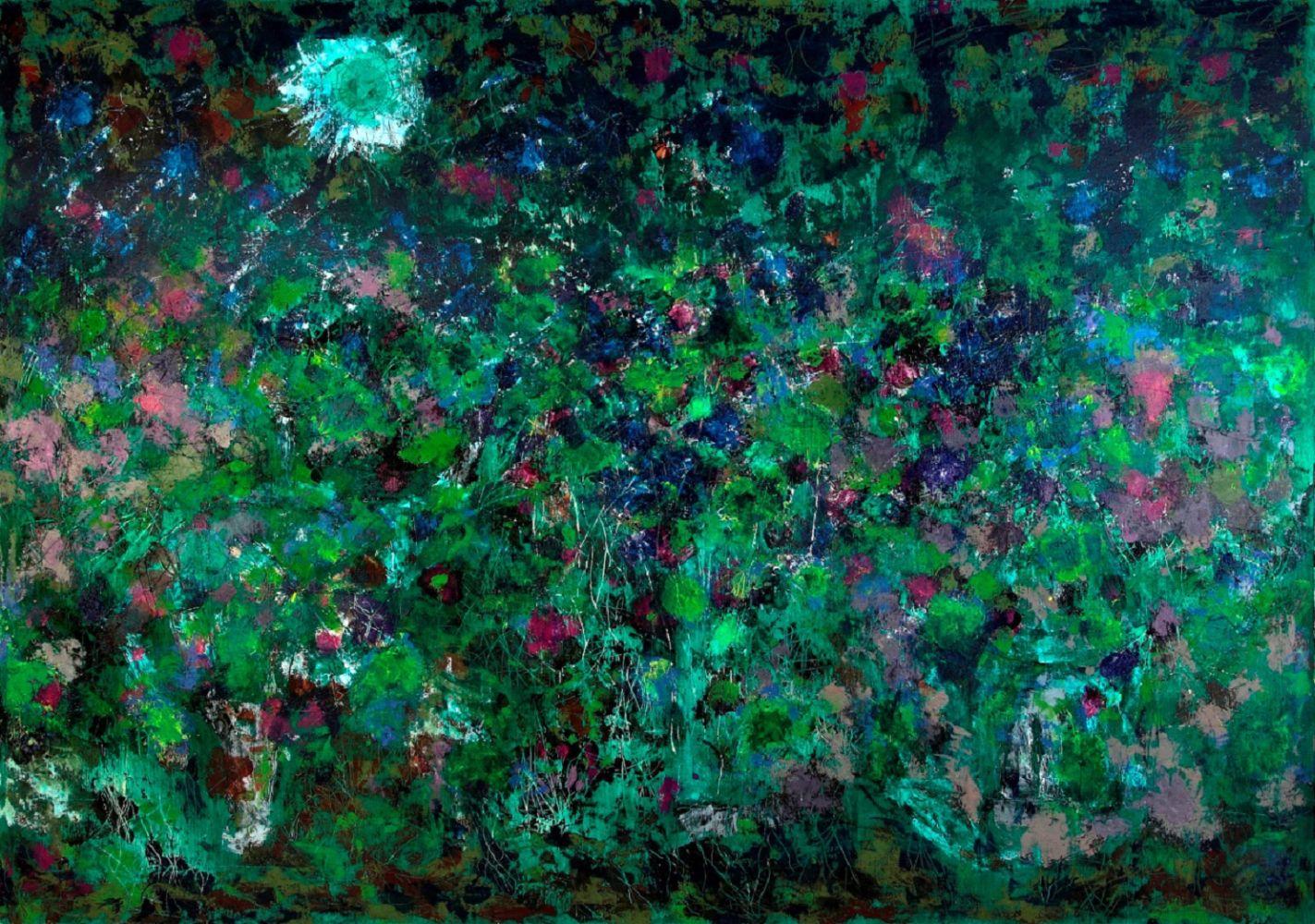 Entropismo (3), 2011, 100X122 cm