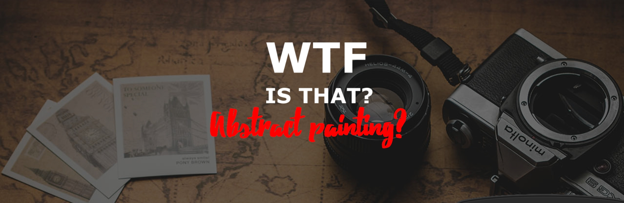 WTF is that Abstract paiting?