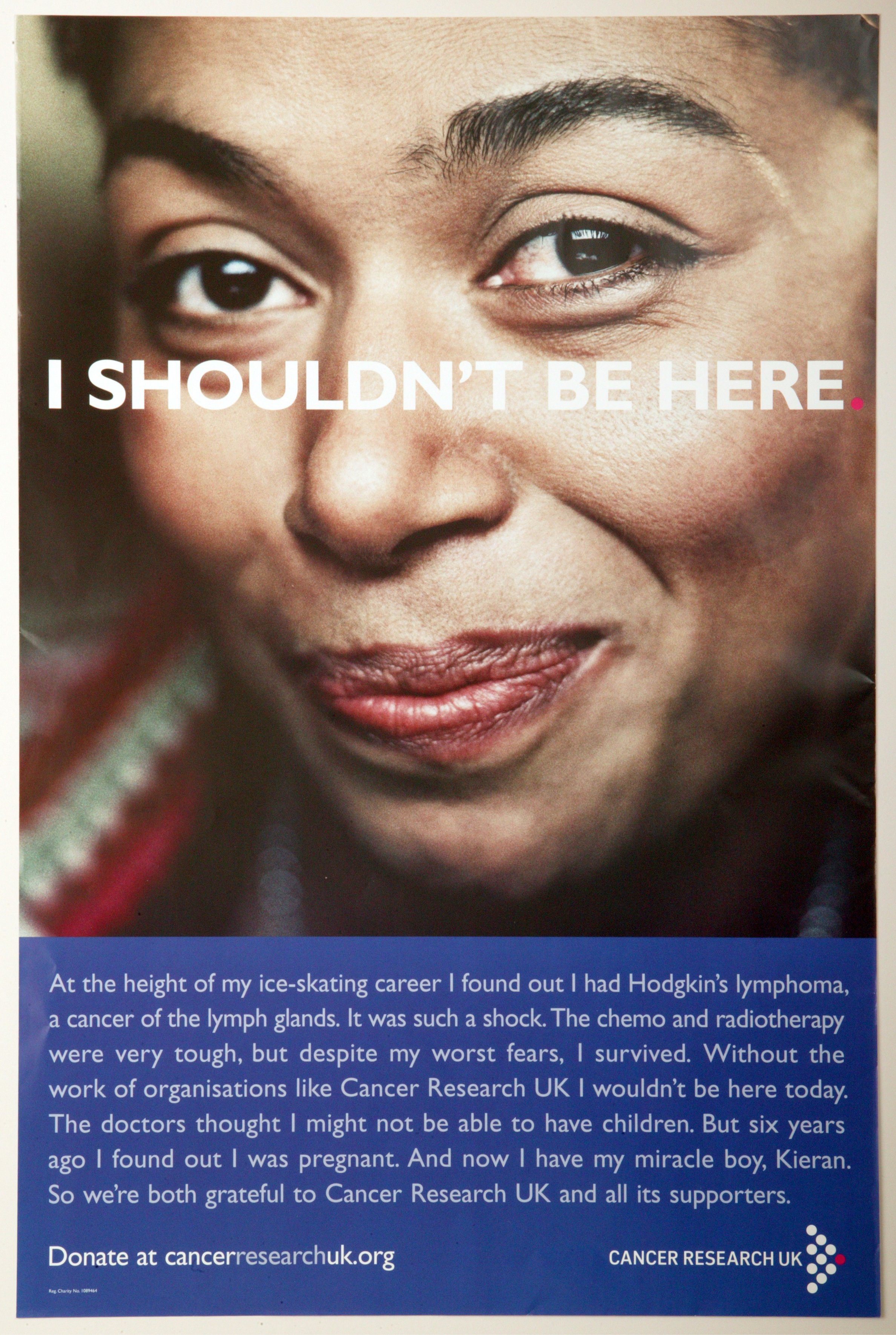 I Shouldn't Be Here Poster