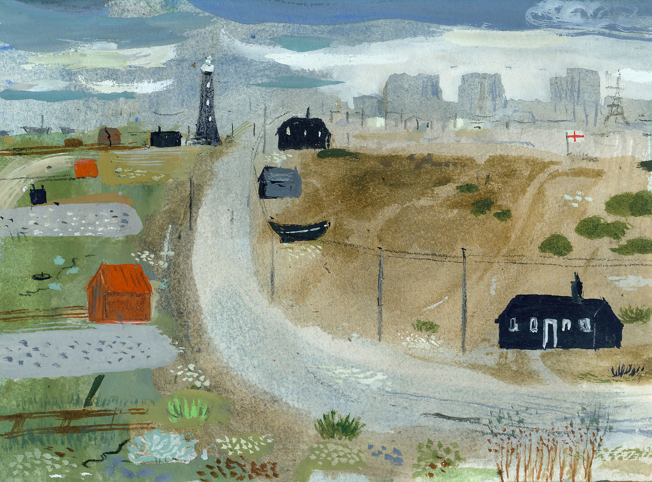 Dungeness composition