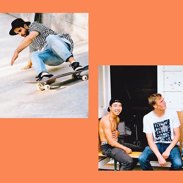 Übrigens unser Logo und visueller Auftritt wurde von @ateliersauce konzipiert und umgesetzt. Wir konzentrieren uns dabei darauf, unsere Werte bestmöglich zu kommunizieren. Dazu gehören der Spass, die Kreativität, eine gewisse Unkonventionalität und vor allem das Gefühl, welches einem das Skateboarding und dessen Livestyle gibt.  #skateboarding #photography #skatelive #arbon #branding #orange #modern #randy #chau #nicolaj #retro #vintage #feeling #livestyle #concrete #minolta #analog