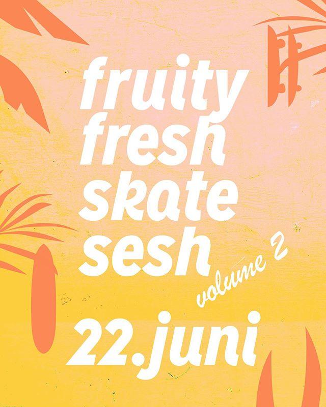 Am 22. Juni wirds wieder fruchtig auf dem Playa! Wir feiern die tropische Hitze mit ner guten Skatesession 🤙🏿🍍🥥🏖 Es gibt Bratwürste 🌭 und Erfrischungsgetränke 🍹 zu kaufen. Musik gibts natürlich auch und jede Menge Fönn!  #event #bodensee #skateboarding #skateboardclubarbon #arbon #amsee #schütti