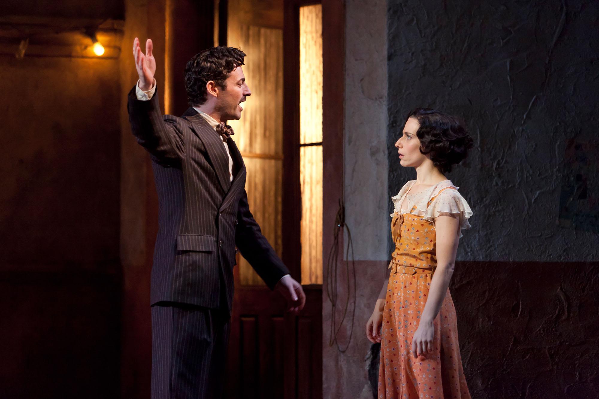 Max and Elena Roger in Evita