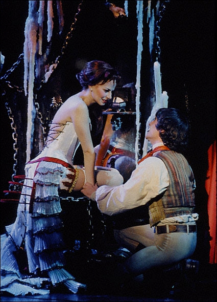 Max and Mandy Gonzalez in Dance of the Vampires