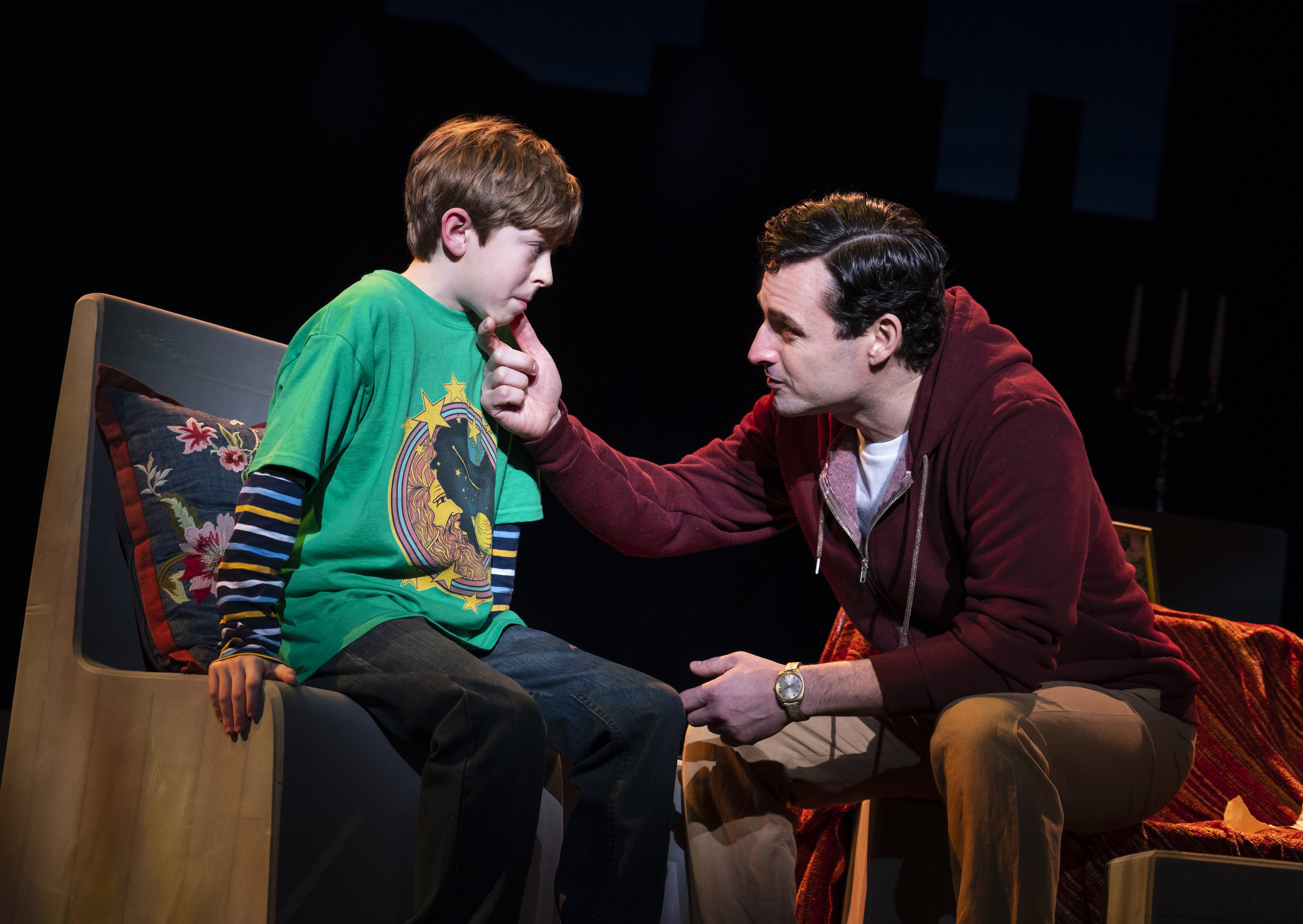 Max and Thatcher Jacobs in Falsettos
