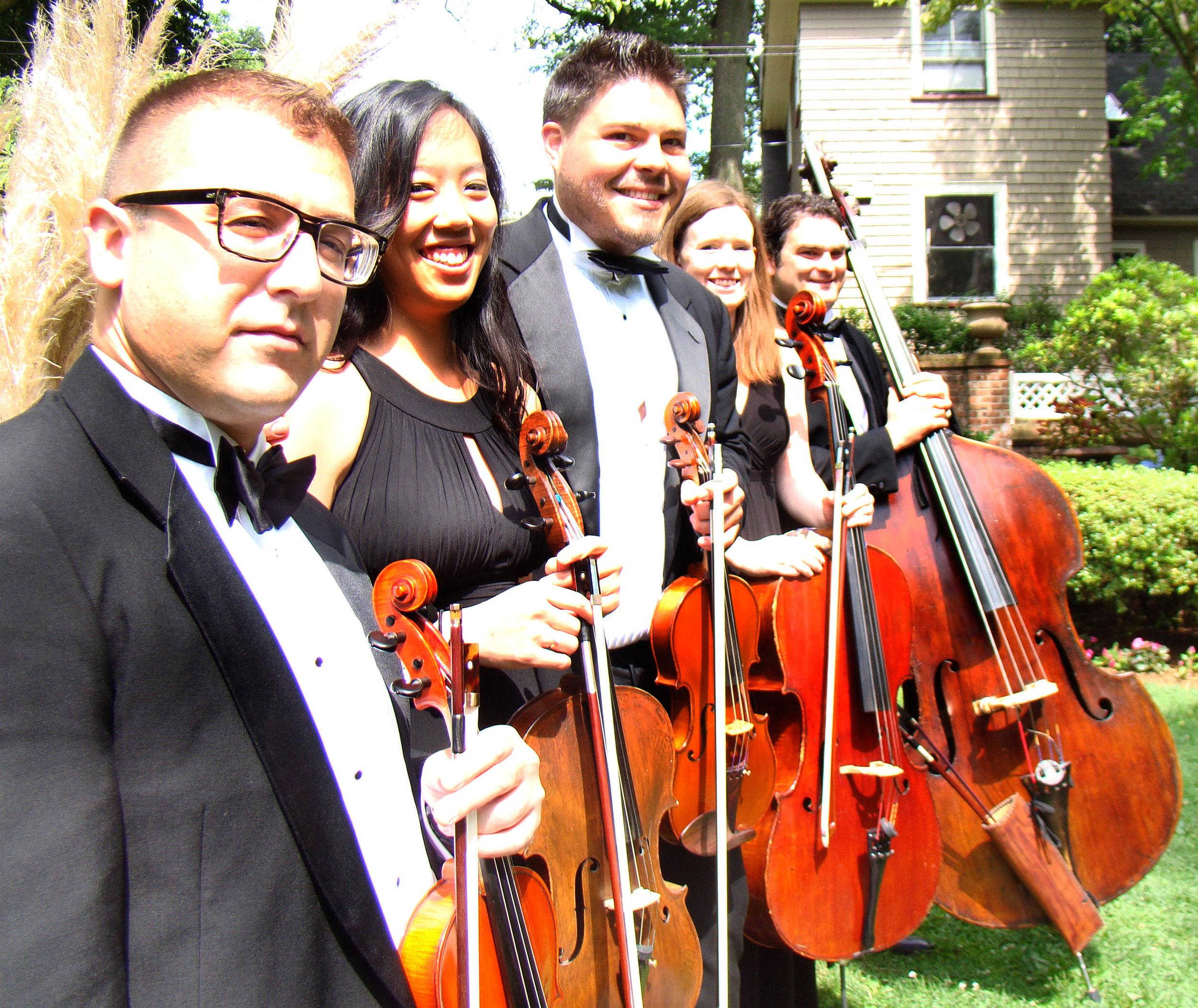 Allemande Ensembles | String Quartet Jazz Trio NJ NYC Weddings and Events