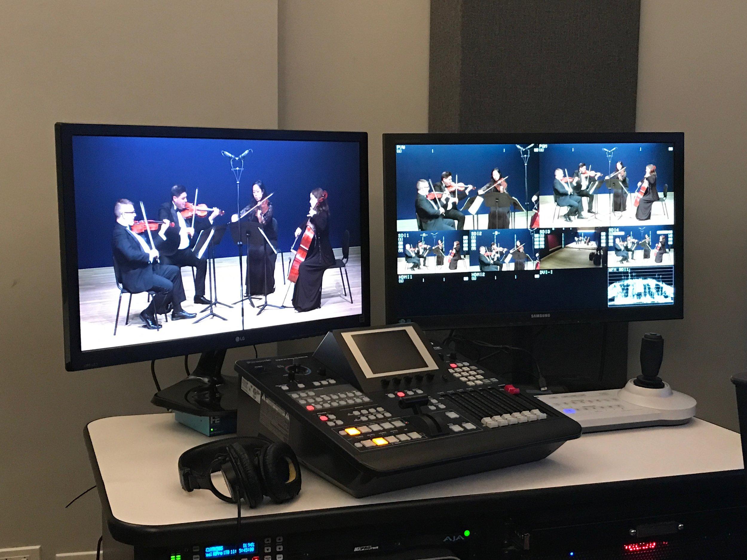 Recording at Opera America!