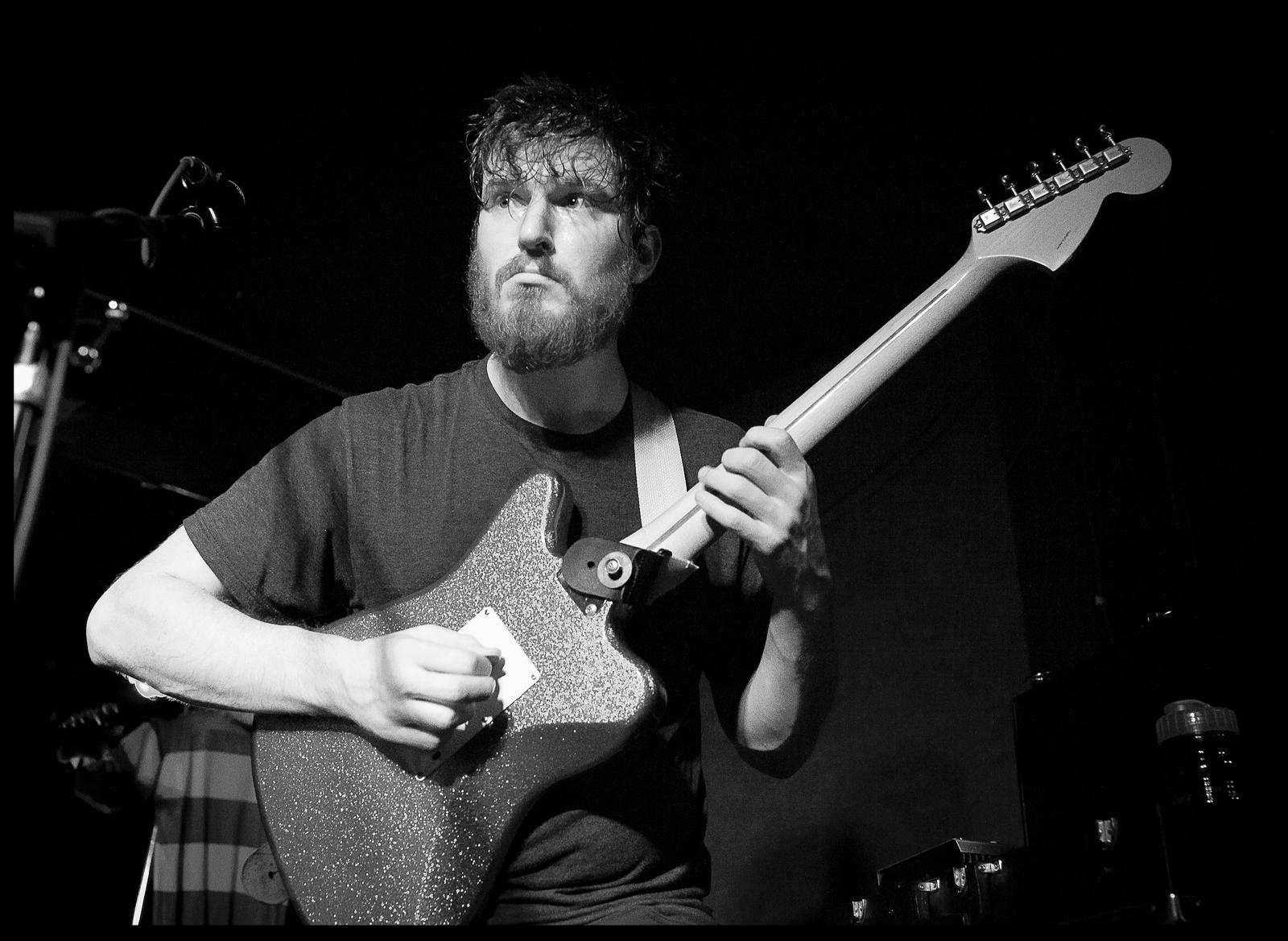Nick Reinhart has emerged in a short amount of time as a true innovator in the art of guitar wrangling. Unlike most guitarists, his focus isn't primarily on the fretboard, but rather in using the entire chain of elements that comprise a guitar sound: fingers, feet, pedals, amps and whatever else he comes into contact with in the process.